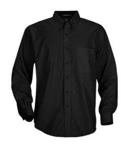 Black Dress Shirt - 1