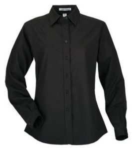 Black Dress Shirt - GIrls